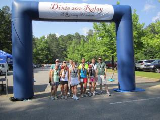 Dixie 200, relay, running, Atlanta, Birmingham