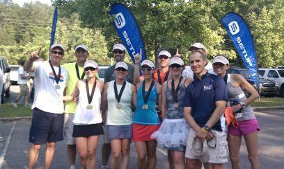 Dixie 200, running relay, Atlanta to Birmingham, 200 mile relay