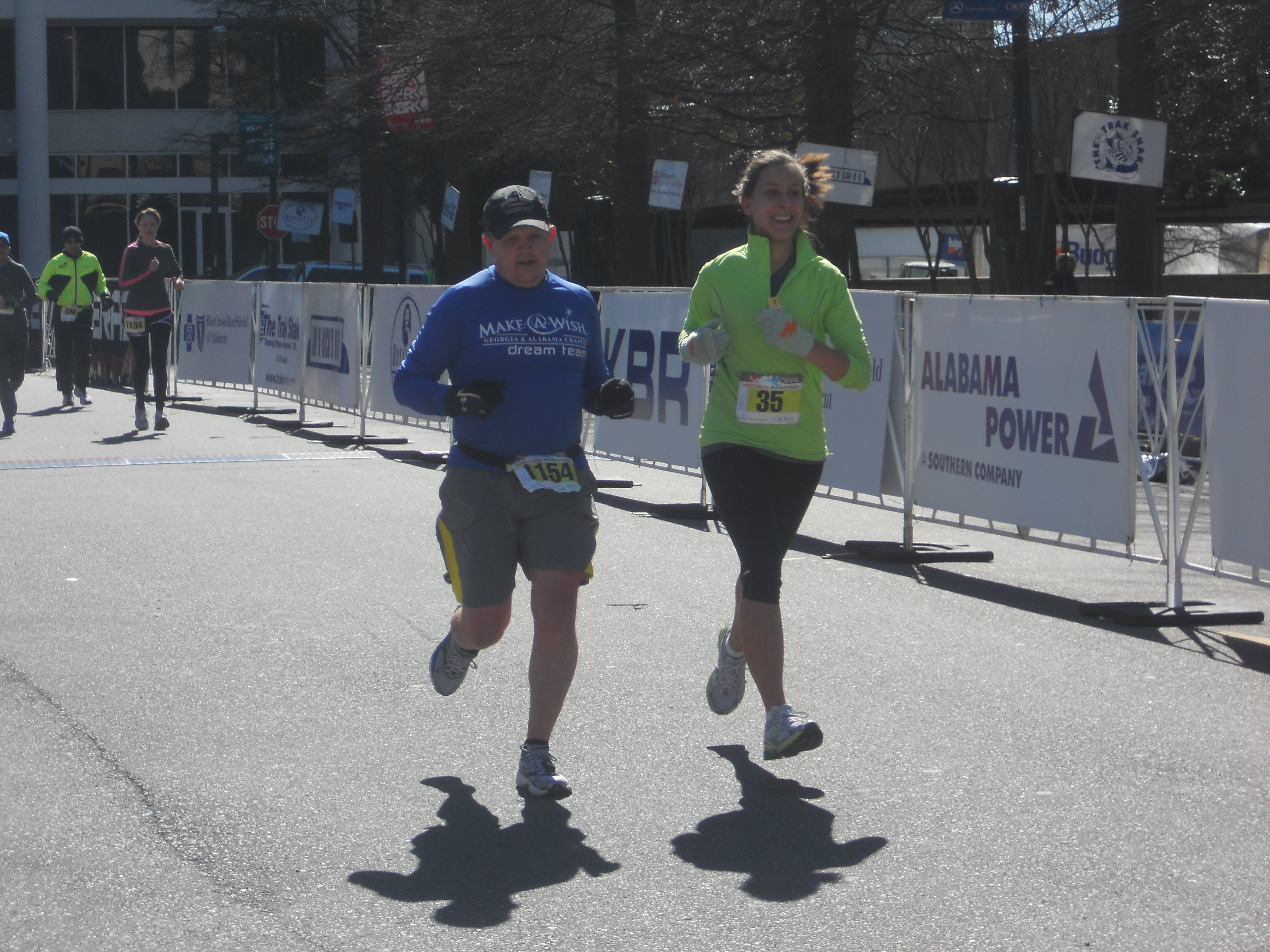 Mercedes Marathon, Birmingham, Alabama, running