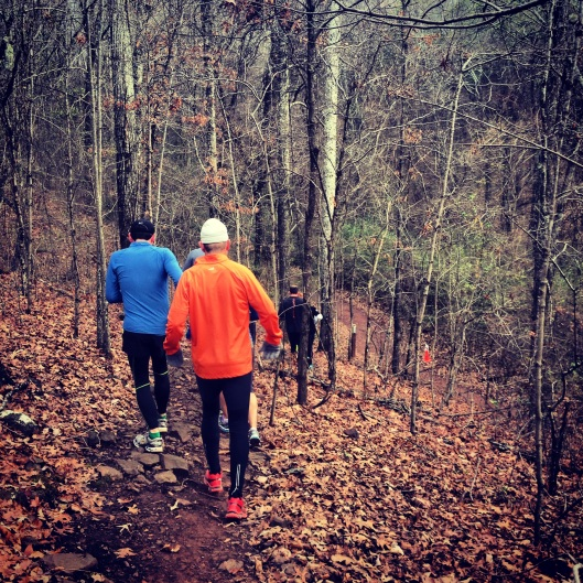 Resolution Run, Birmingham, trial running,  Red Mountain Park