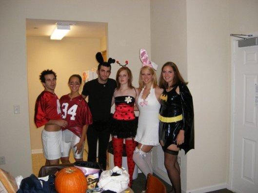 Roll tide, Halloween, University of Alabama, costumes, cheerleader, football player