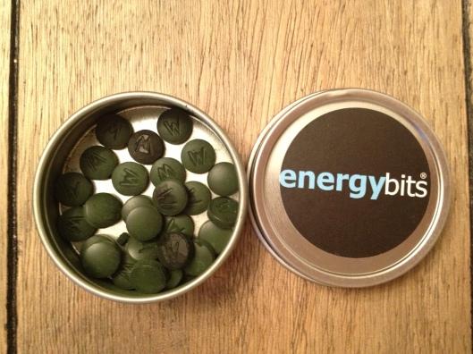 Energybits, nutrition, fitness, algae