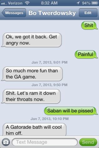 University of Alabama, angry fans, BCS