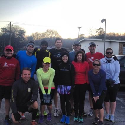 MLK Day, Birmingham, Civil Rights, running, Village Runners