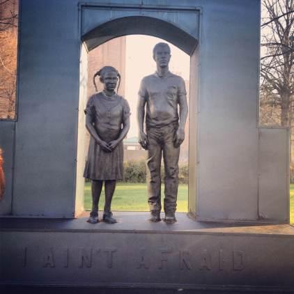 MLK Day, Birmingham, Civil Rights, running, Kelly Ingram Park
