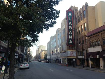 MLK Day, Birmingham, Civil Rights, running, Alabama Theater
