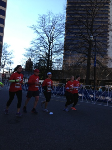 Mercedes Marathon weekend, half marathon, marathon relay, Birmingham, The Bell Center
