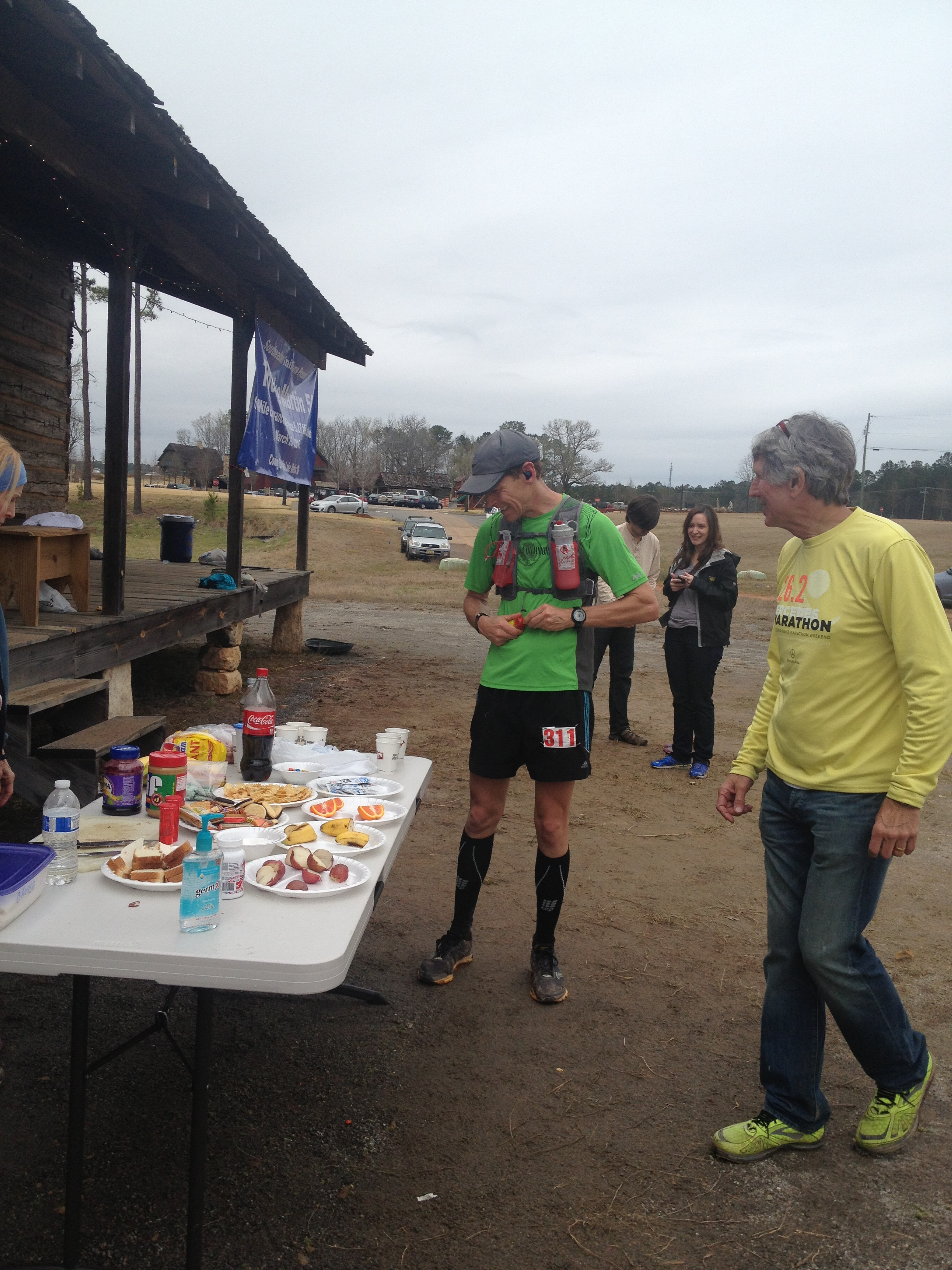 Lake Martin 50, ultramarathon, ultrarunning, sweeping a race, Southeast Trail Series, fun run, race volunteer,