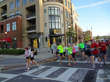Team 413, Get There and Share Half Marathon, pacing, pace groups, half marathon, Homewood, Alabama, Downtown Homewood
