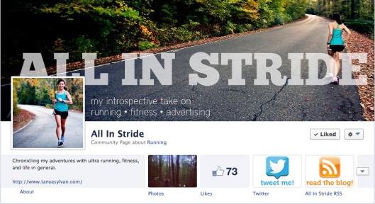 All In Stride blog, running, ultra running, trail running, fitness, training,