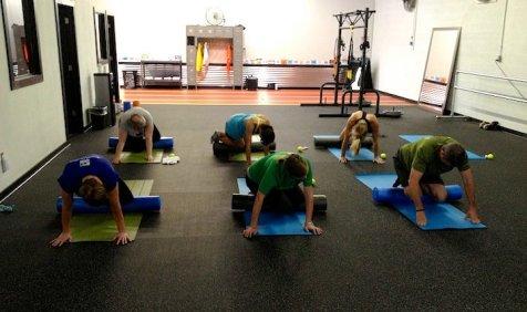 Resolute Running, cross training, hurdles, suicide drills, foam rolling, mountain climbers, Birmingham, training gym