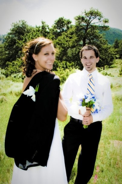 wedding, anniversary, elope, Rocky Mountain National Park, Colorado, hiking, outdoor wedding, Bear Lake