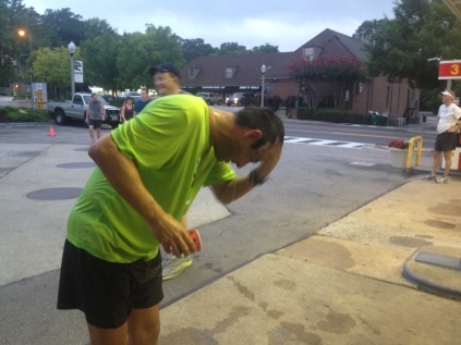 running in summer, Birmingham, Alabama, heat training