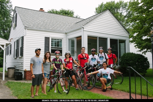 Dream4TK, Embrace Kids Foundation, Orlando, Disney World, cycling, 5D, Rutgers University
