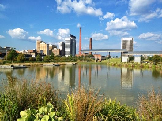 Birmingham, Alabama, Good People Brewing Company, Avondale Brewery, Cahaba Brewing, Railroad Park, Vulcan, Regions Field