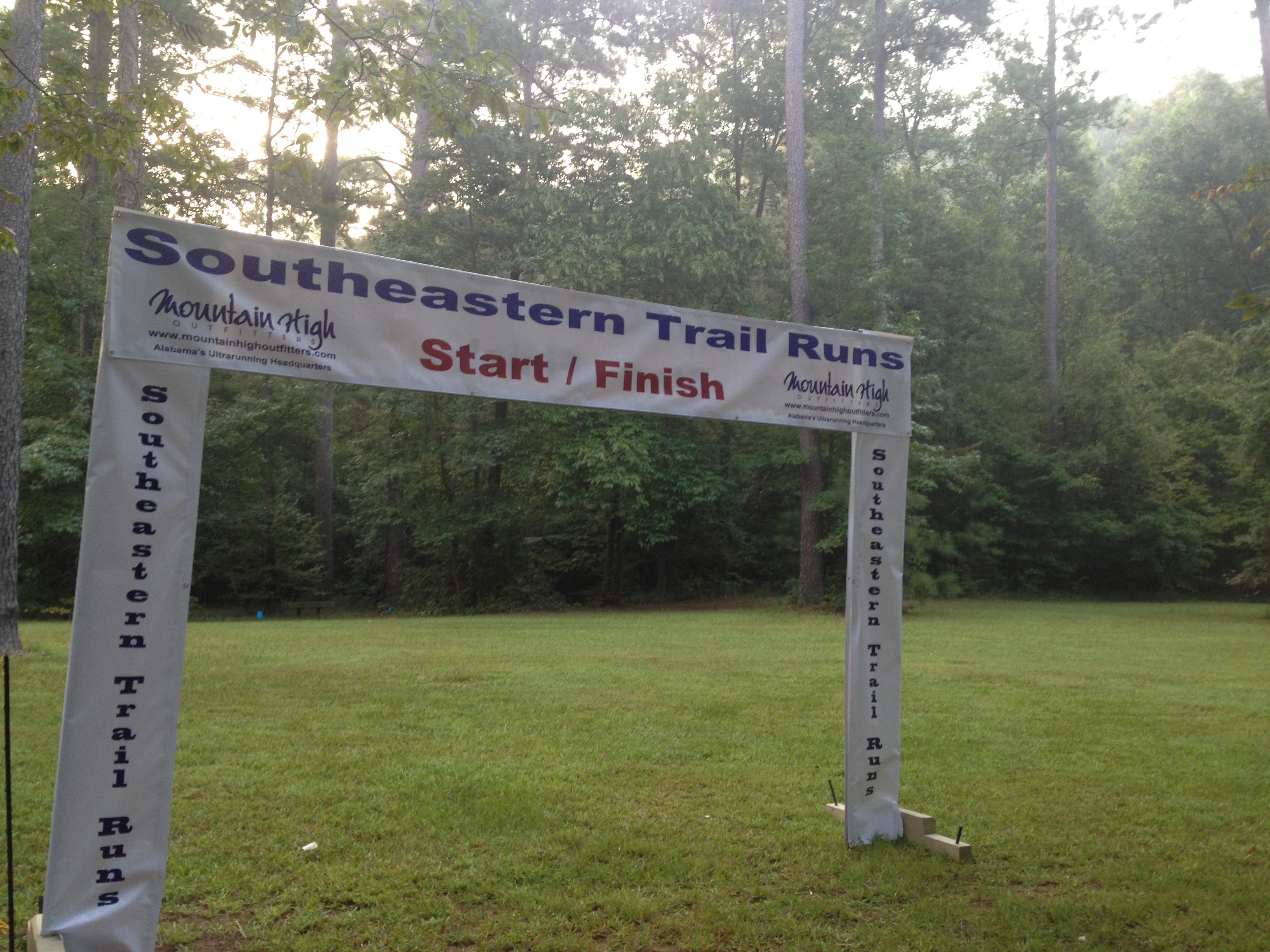 BTC Free Race, Birmingham Track Club, Oak Mountain State Park, Southeastern Trail Series, David Tosch, trail running, ultra running
