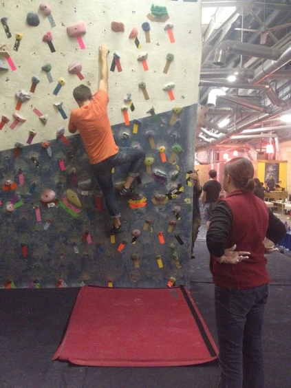 Rock climbing, First Avenue Rocks, climbing gym in Birmingham, cross training, strength training